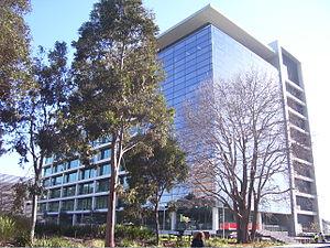 English: A photo of 'H' building at Monash Uni...