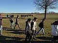 Monmouth Battlefield State Park First Day Hike 2015 open fields turn.jpg