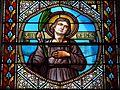 Montagnac-sur-Auvignon église vitrail nef détail (1).JPG