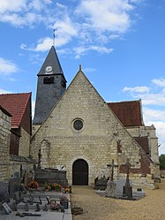 The church in Montiers
