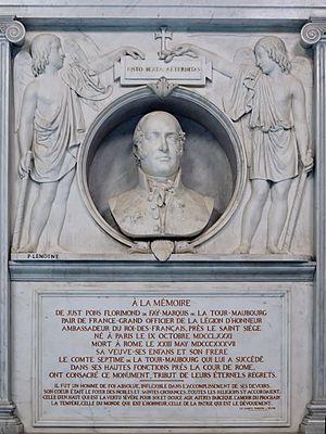 Charles César de Fay de La Tour-Maubourg - Monument of Just Florimond