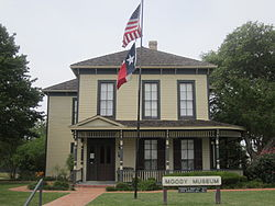 Moody Museum is the home of former Governor Dan Moody