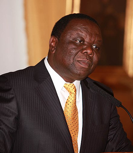 Morgan Tsvangirai led the MDC to growing success in opposing Mugabe's regime in the 2000 parliamentary election. Morgan Tsvangirai Oslo 2009 A.jpg