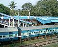 Morning view at Visakhapatnam railway station 01.jpg