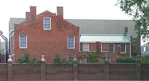 Moross House - Side elevation of the Moross House