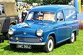 Morris half ton van license plate 1970 based on pre Farina Austin Cambridge saloon.jpg