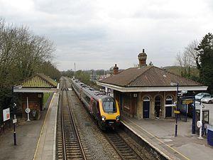 Reading–Basingstoke line - Mortimer station