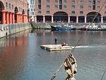 Motorised raft, Albert Dock, Liverpool - 2013-06-07 (35).JPG