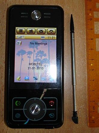 Motorola Rokr - Image: Motorola Rokr E6
