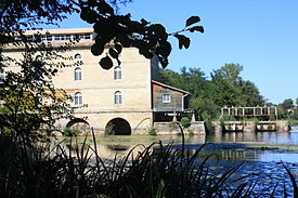 Moulin du Barrage à Porchères en gironde -33 photo1.JPG