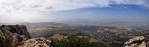 Migdal, Israel - Image: Mount Arbel 07