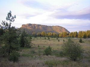 Mount Boucherie - North face of Mount Boucherie.