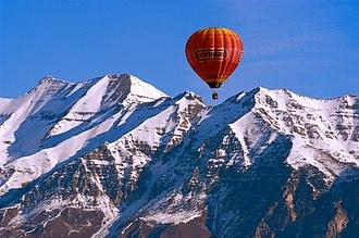 Mount Timpanogos Wilderness - Mount Timpanogos, Winter 2007