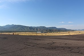 Mountains to the southeast of FIllmore, Utah.JPG