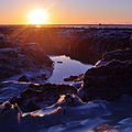 Mouth of Campbell Creek, in Anchorage, Alaska.jpg