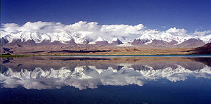 Karakul (China) - with Mt Kongur at the background