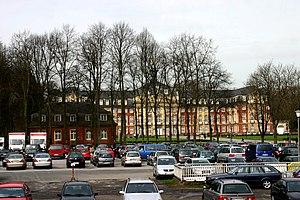 Deutsch: Hindenburgplatz mit Schloß