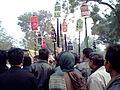 Muharram (Al'am) procession Barabanki India (Jan 2009).jpg