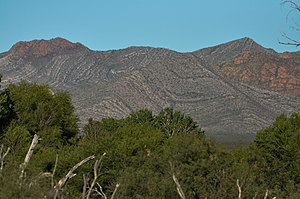 Mule Mountains - Image: Mule Mountains, AZ