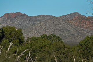 Mule Mountains place