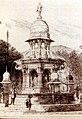 Mulji Jetha Fountain, Bombay - 19th-century drawing.jpg