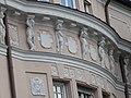 Munich — Franz-Joseph-Strasse 8 — Fassadenschmuck .JPG