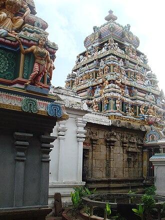 Pancha Ishwarams - Image: Munneswaram