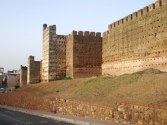 Ceuta - The Marinid Walls, built by Abu Sa'id Uthman II in 1328.