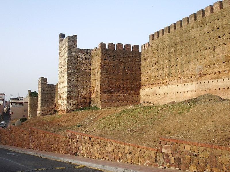 File:Murallas meriníes de Ceuta.jpg