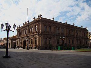 Museo Nacional de la Máscara - Museum building (aka Federal Palace)