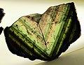 Museo di mineralogia, trasperenze, liddicoatite dal madagascar 3.JPG