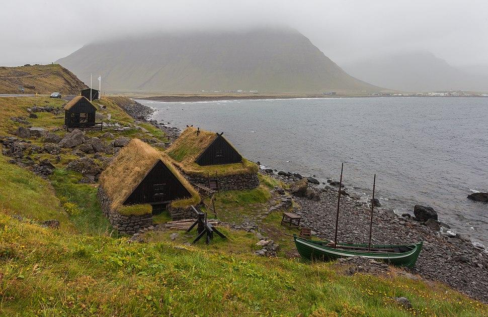 Museo marítimo Ósvör, Bolungarvík, Vestfirðir, Islandia, 2014-08-15, DD 066