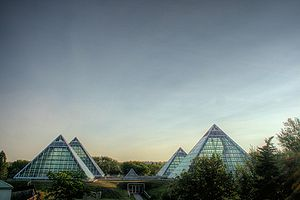 Muttart Conservatory - Image: Muttart Conservatories Edmonton Alberta Canada 11A