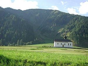 Grafschaft, Switzerland - Muttergottes chapel outside Ritzinger