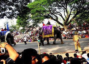Mysore Dasara - Image: Mysore Dasara procession