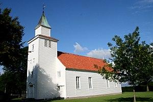 Old Nærbø Church - Image: Nærbø gamle kirke