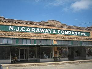 Logansport, Louisiana - N.J. Caraway Department Store in Logansport dates to 1907.
