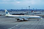 N801PA Douglas DC-8-32 Pan-American World Airways LHR 14SEP64.jpg