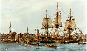 Robert Morris (financier) - USS Alfred