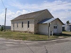 Nicodemus National Historic Site - Image: NICO African Methodist Episcopal Church