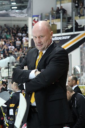 Peter Andersson (ice hockey, born 1965) - Image: NLA, HC Lugano vs. Genève Servette HC, 18th October 2014 20