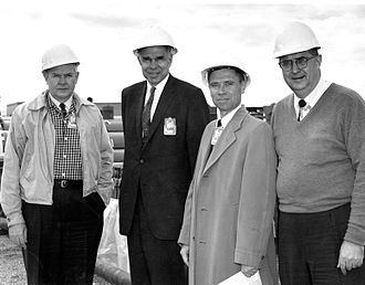 Glenn T. Seaborg - Seaborg (second from left) during Operation Plumbob