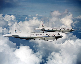 Lockheed WP-3D Orion - NOAA Lockheed WP-3D Hurricane Hunters