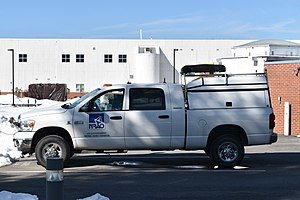 United States National Radio Quiet Zone - Image: NRAO modern patrol truck