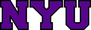 NYU Violets men's basketball - Image: NYU wordmark
