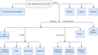 New Zealand Threat Classification System A system to assess the conservation priorities of New Zealand species