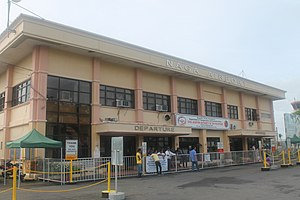 Pili, Camarines Sur - The Naga Airport is located inside the CBSUA Main Campus in San Jose, Pili, Camarines Sur.