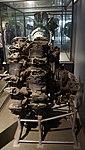 Nakajima type Ha-45 Homare engine left side view at Modern Transportation Museum March 23, 2014.jpg