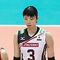 Nana Iwasaka Japan Volleyball team (cropped).jpg