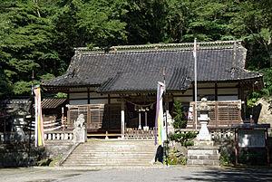 Nanbu clan - Nanbu Shrine, where the ancestors of the Nanbu clan are enshrined as kami